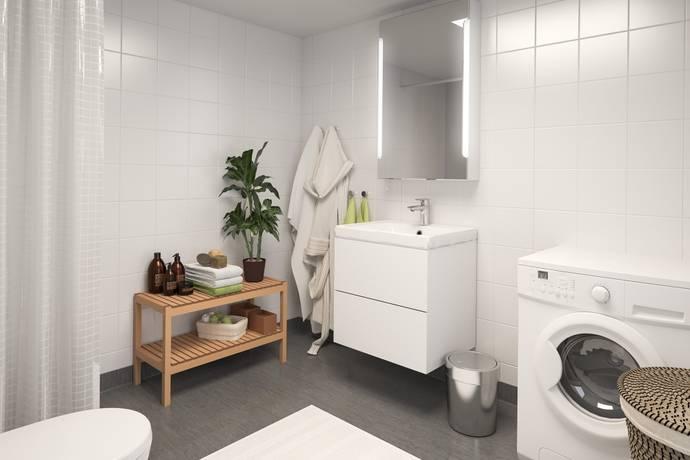 Bild: 2 rum bostadsrätt, Trelleborgs kommun Skegrie