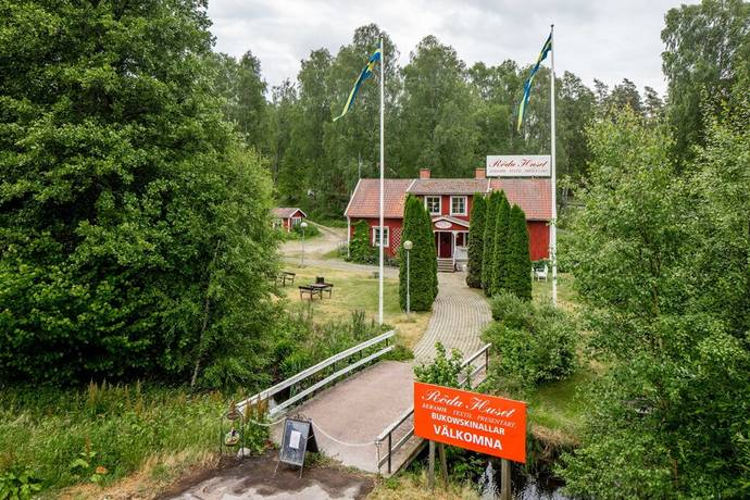 Bild: övrigt på Strömbergshyttan Röda Huset, Lessebo kommun Strömbergshyttan