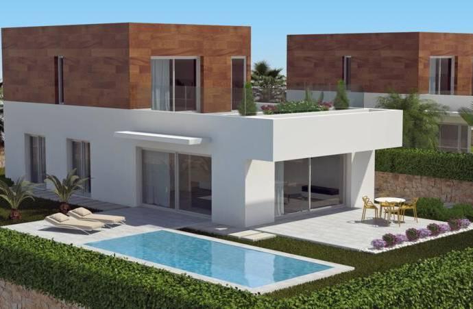 Bild: 5 rum villa på Modern, stor och lyxiga villor med privat sim, Spanien Campoamor -  Orihuela Costa