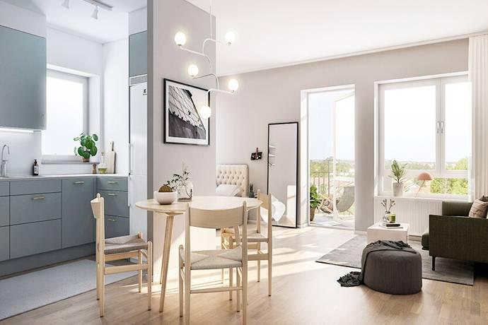 Bild: 1 rum bostadsrätt på Kallhällsleden, Trim, Järfälla kommun Kallhäll