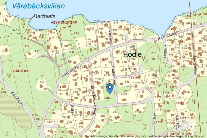 Bild: tomt på Balkes väg 7, Härryda kommun Härryda-Skårtorp