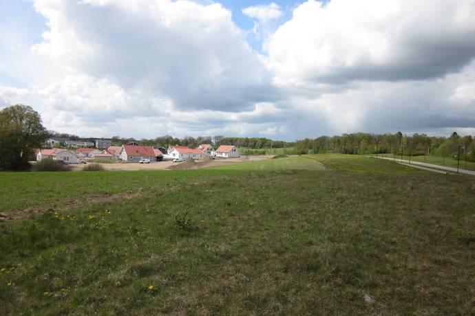 Bild: tomt på Timjanvägen, tomt C, Höörs kommun