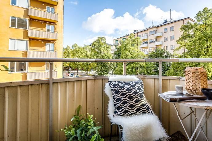 Bild: 2 rum bostadsrätt på Erik Dahlbergsgatan 35, 2 tr, Stockholms kommun Gärdet/Tessinparken