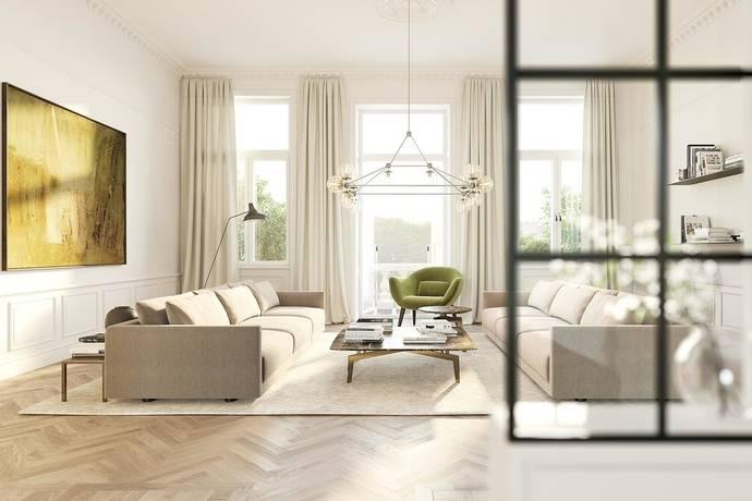 Bild: 4 rum bostadsrätt på Sturegatan 58, Stockholms kommun Östermalm