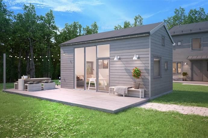 Bild: 1 rum bostadsrätt på Björnvägen 30-42, Huddinge kommun Länna