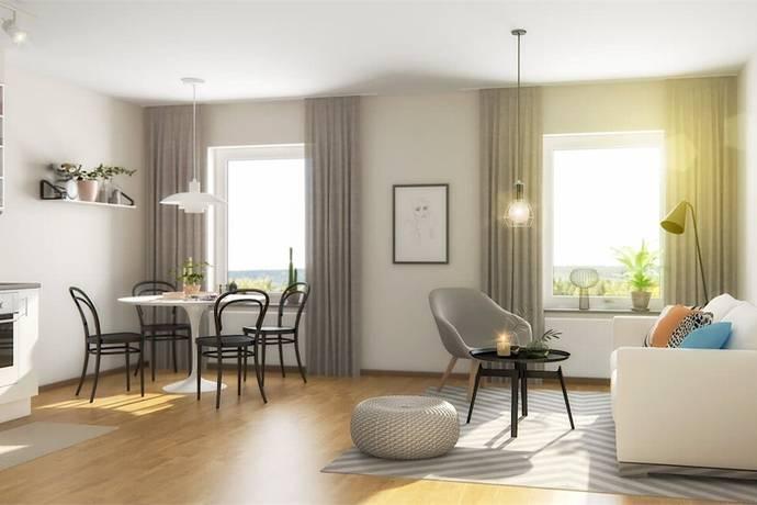 Bild: 2 rum bostadsrätt på Råbyvägen 55, 3tr, Uppsala kommun Gränby