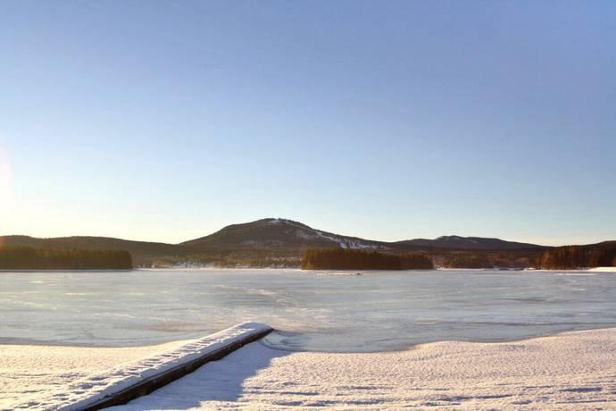 Bild: tomt på Gesundavägen, Lindanvägen, Mora kommun Mora Gesunda