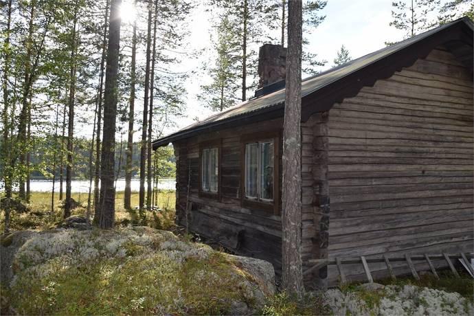 Bild: fritidshus på Sjötomt vid Huln, Vansbro kommun Dala-Järna