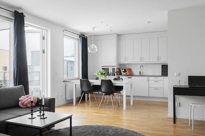 Bild: 2 rum bostadsrätt på Margreteborgsvägen 17, Sollentuna kommun Silverdal