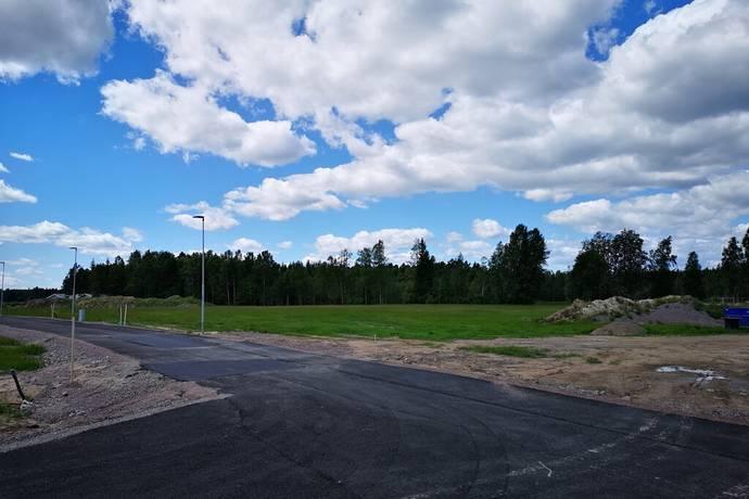 Bild: tomt på Fruktvägen, Karlstads kommun Skåre