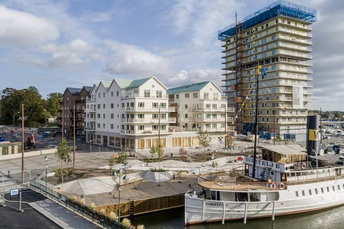 Bild: 3 rum bostadsrätt på Ångbåtsgatan 5, Norrtälje kommun Norrtälje Hamn