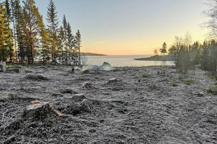 Bild: tomt på Lilla Havstoviken Alnö, Sundsvalls kommun