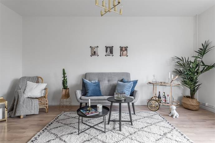 Bild: 3 rum bostadsrätt på Fredsgatan 12 A, Sundbybergs kommun Centrala Sundbyberg