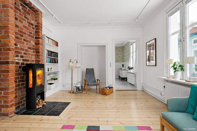 Bild: 2 rum bostadsrätt på Östra Parkgatan 25, Luleå kommun Östermalm