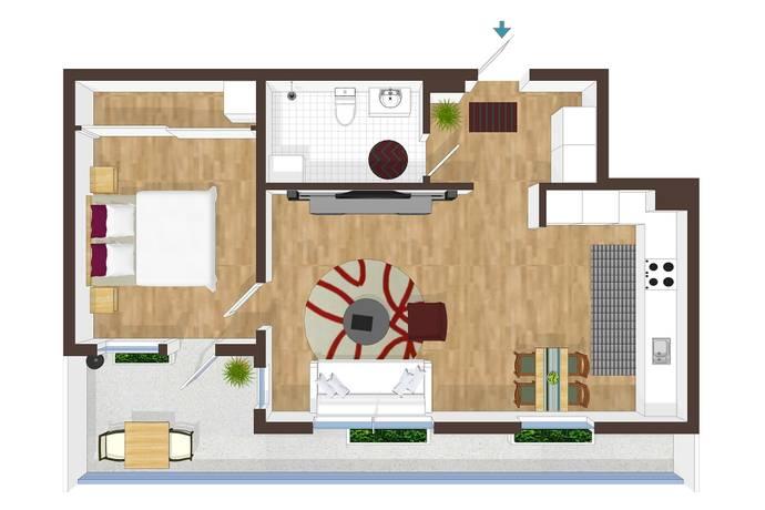 Bild: 2 rum bostadsrätt på Alpvägen 21, vån 3, Stockholms kommun Bromma - Annedal