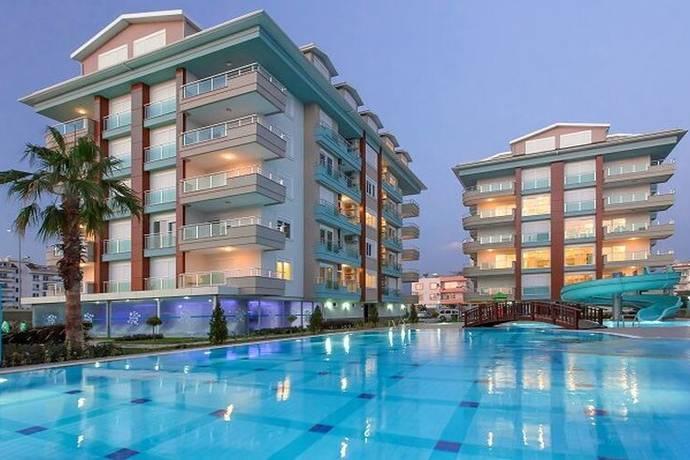 Bild: 2 rum bostadsrätt på Kestel Turkuaz id 3494, Turkiet Kestel
