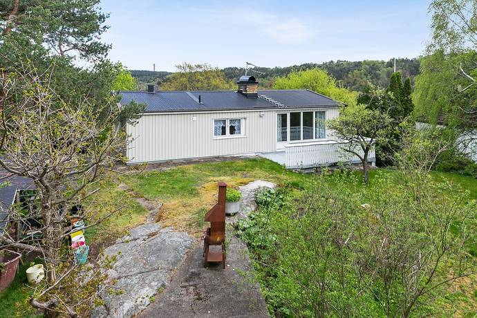 Bild: 3 rum villa på Korgbollsvägen 5, Göteborgs kommun Eriksbo