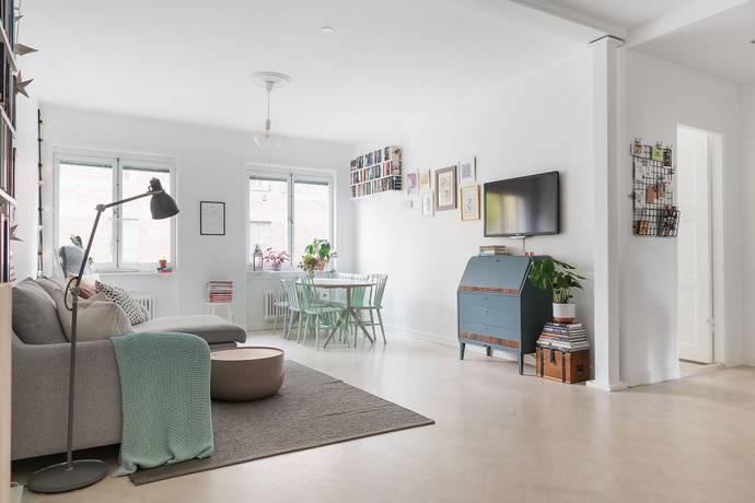 Bild: 3 rum bostadsrätt på Tegnérgatan 57, 1½ tr, Stockholms kommun Vasastan/Norrmalm