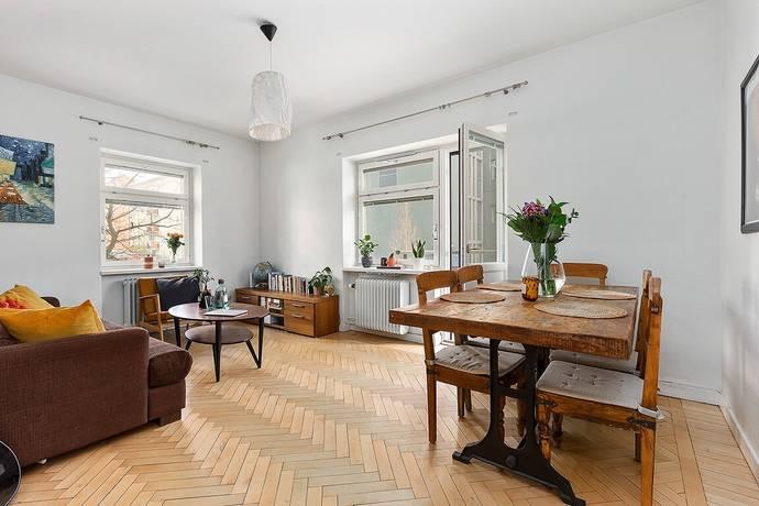 Bild: 2 rum bostadsrätt på Rosengatan 3B, Sundbybergs kommun Centrala Sundbyberg