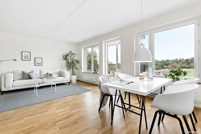 Bild: 4 rum bostadsrätt på Fridensborgsvägen 165, Solna kommun Järvastaden/Solna