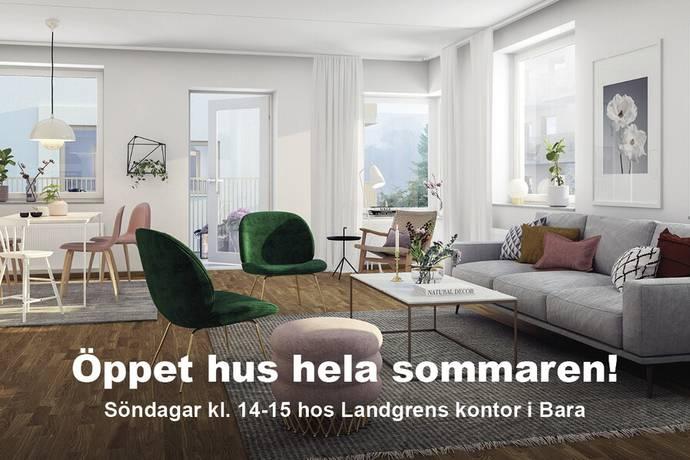 Bild: 3 rum bostadsrätt på Torggatan, Svedala kommun Bara centrum