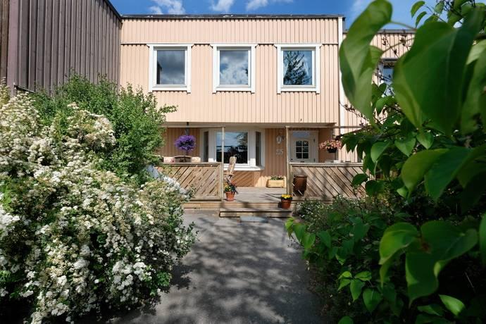 Bild: 6 rum radhus på Musserongången 215, Tyresö kommun Krusboda