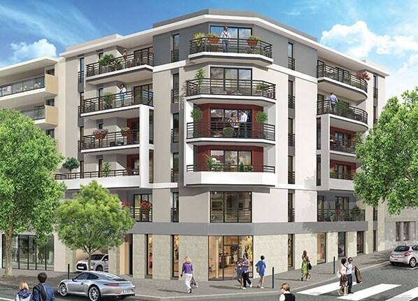 Bild: 3 rum bostadsrätt på Antibes centrum, Frankrike Franska Rivieran