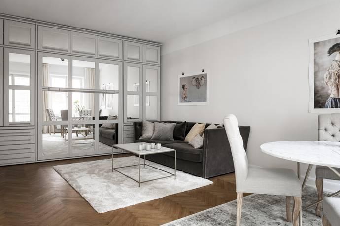 Bild: 2 rum bostadsrätt på Roslagsgatan 29A, Stockholms kommun Vasastan