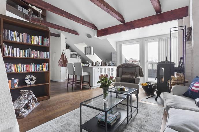 Bild: 3 rum bostadsrätt på Parkvägen 15, Solna kommun Gamla Råsunda