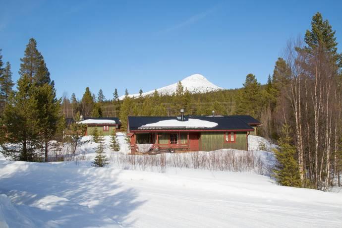 Bild: bostadsrätt på Lofsens Fjällby, Härjedalens kommun Lofsdalen vid liftarna