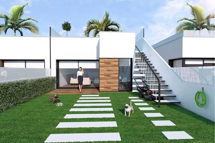 Bild: 3 rum radhus på Nybyggt radhus med egen tomt, Spanien Roda Golf, Costa Calida