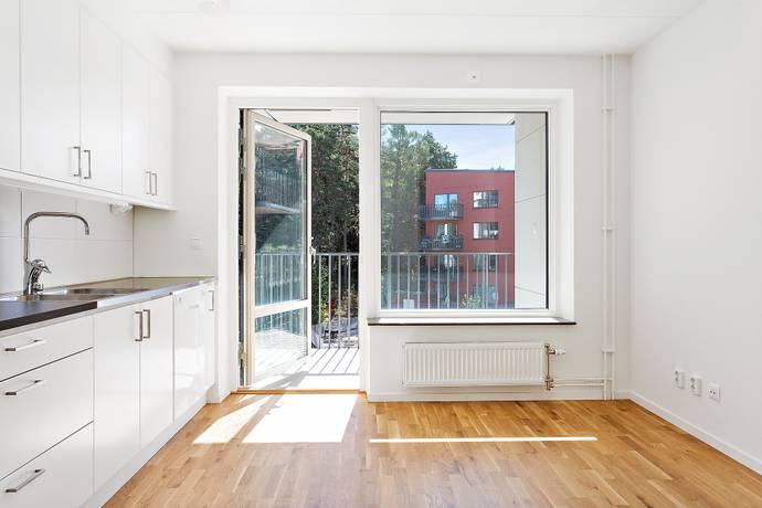 Bild: 3 rum bostadsrätt på Källtorpsvägen 9, 2tr, Täby kommun Näsby Park