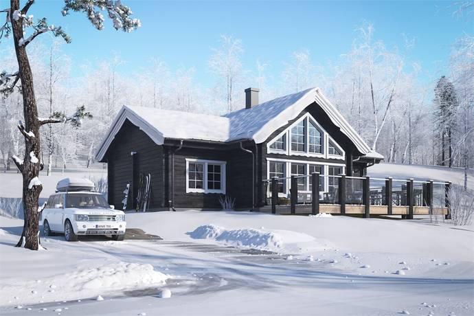 Bild: 5 rum villa på Nyproduktion Fjällbäcken Orrstigen 13, Tomt nr 7, Älvdalens kommun Fjällbäcken nära Idre Fjäll