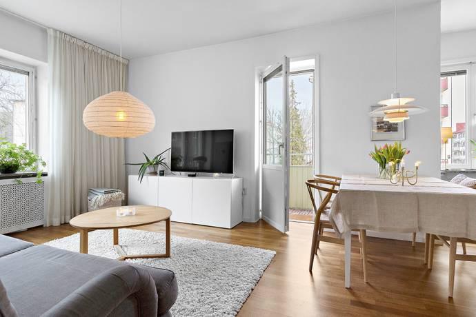 Bild: 2 rum bostadsrätt på Uppfartsvägen 5, Solna kommun Råsunda