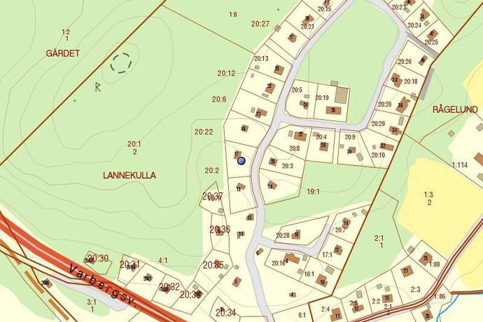 Bild: 3 rum villa på Lannekullavägen 17, Kungsbacka kommun Frillesås