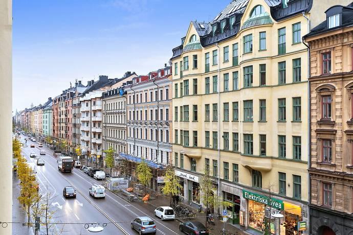 Bild: 5 rum bostadsrätt på Brännkyrkagatan 91, 3 tr, Stockholms kommun Södermalm Högalid Zinkensdamm