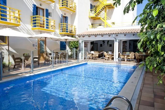 Bild: 1300 m² villa på MALLORCA, Hotell 80 rum nära strand, Spanien MALLORCA