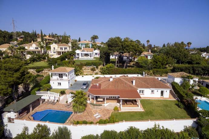 Bild: 7 rum villa på Fin Enplans villa med vacker utsikt, Spanien Marbella - El Paraiso