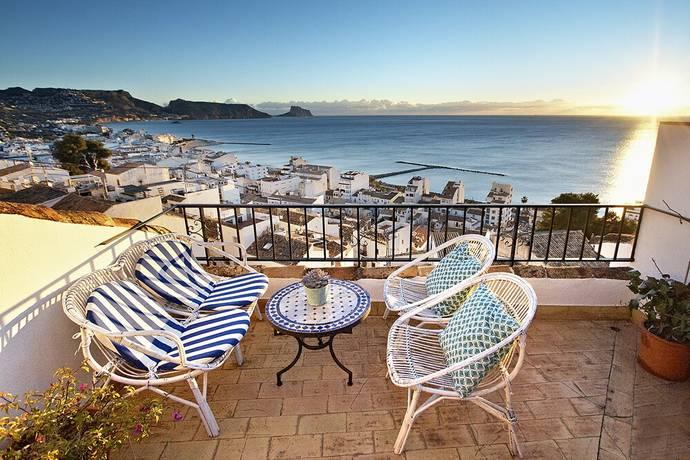 Bild: 4 rum villa på Underbart romantiskt hus I Gamla stan Altea, Spanien COSTA BLANCA - ALTEA