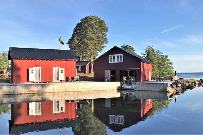 Bild: 6 rum fritidshus på Lockskär Harald 856, Söderhamns kommun Södra Skärgård, Harald, Nyponön