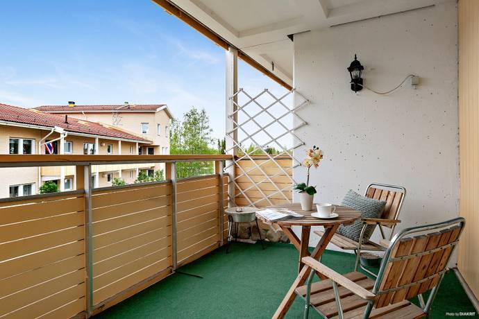 Bild: 2 rum bostadsrätt på Tråggränd 41, Umeå kommun Ersboda
