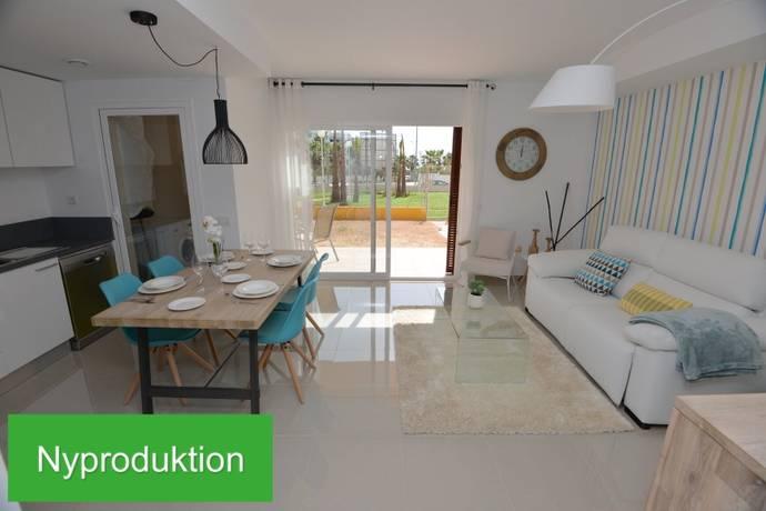 Bild: 4 rum bostadsrätt på Ny etagélgh 4:a vid pool,  Playa Flamenca, Spanien Orihuela Costa / Costa Blanca