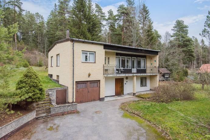 Bild: 6 rum villa på Fågelsjövägen  14, Motala kommun Äldre delen Borensberg