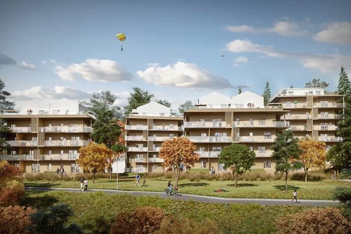 Bild: 2 rum radhus på Skogsbovägen 21 hus 2 lgh 212, Värmdö kommun Gustavsberg - Ösby Sjöpark