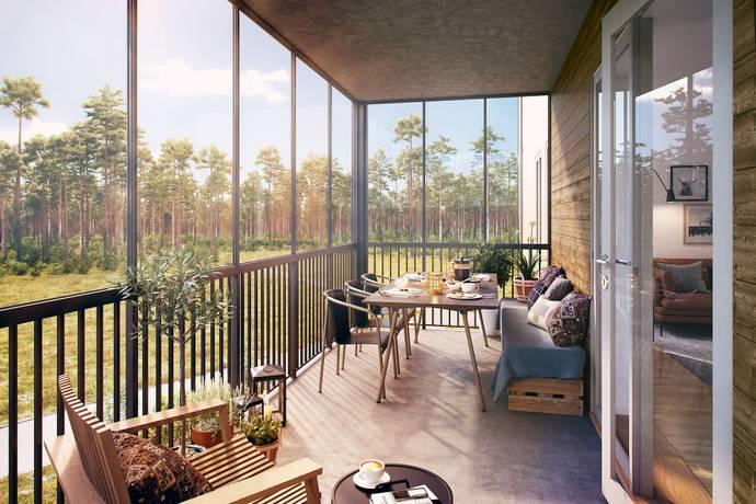 Bild: 4 rum bostadsrätt på Sanatorieskogen 13, Örebro kommun Adolfsberg