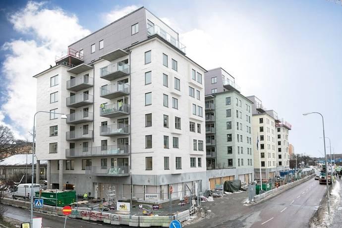 Bild: 1 rum bostadsrätt på Solnavägen 96B, vån 5, Solna kommun Råsunda