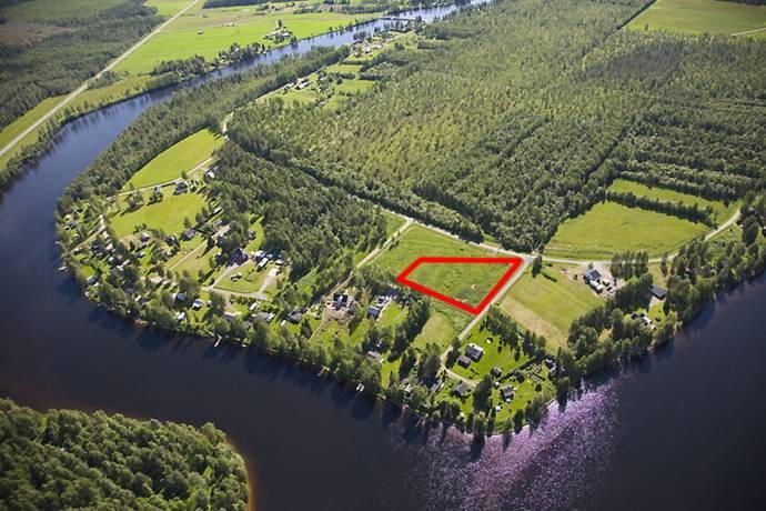 Bild: tomt på Kusön Norra, Bodens kommun Kusön