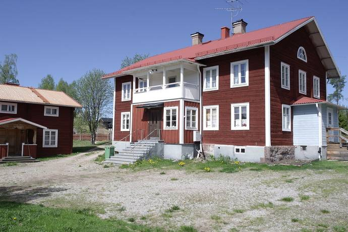 Bild: gård/skog på Kröjs, Ljusdals kommun