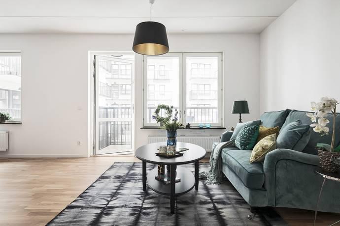 Bild: 4 rum bostadsrätt på Glasfibergatan 19, Stockholms kommun Älvsjöstaden
