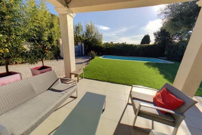 Bild: 7 rum villa på Juan-les-Pins, Frankrike Franska Rivieran